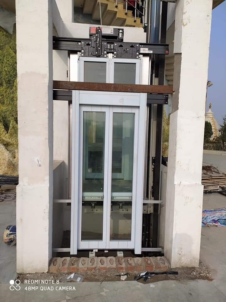 Elevator Glass Door