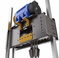 MRL Traction Machine