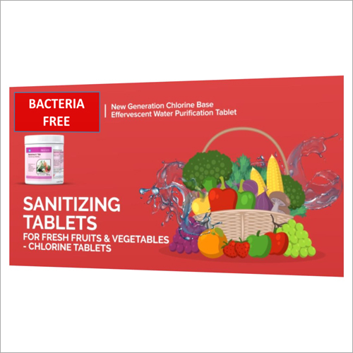 Bacteria Free Sanitizer Tablets