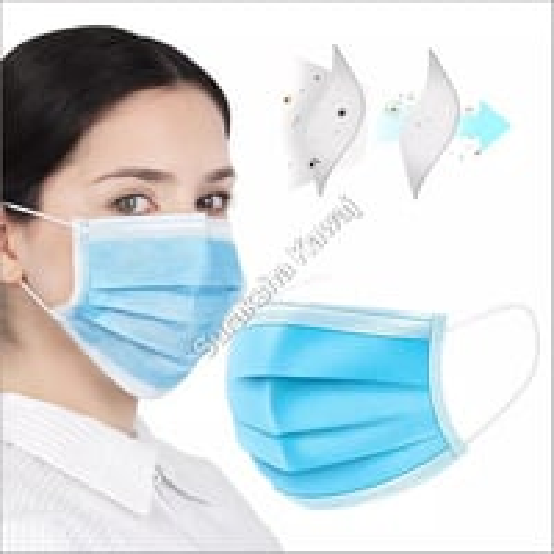 3 Ply Civil Grade Mask (FFP1, Melt Blown with Non-Woven)