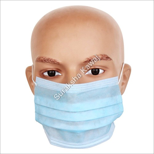 Disposable Surgical 3 Ply Face Mask with elastic and Filter