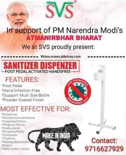 Hand Free Sanitizer Dispenser