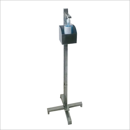 Hand Free Sanitize Ss Stand