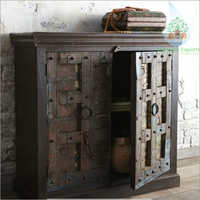 Antique Old Door Cabinet