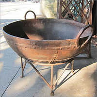 Antique Kadai Studded Fire Bowl