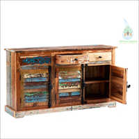 Reclaimed 3 Drawer 3 Door Sideboard
