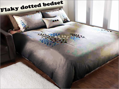 Flaky Dotted Bed Sheet