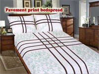 Pavement Print Bedspread