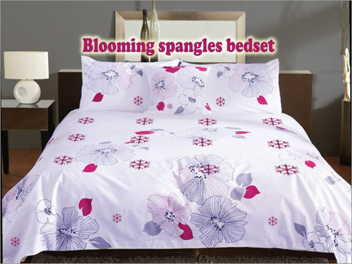 Blooming Spangles Bed Set