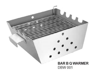 """Barbecue Warmer SS 9 x 7"""""""