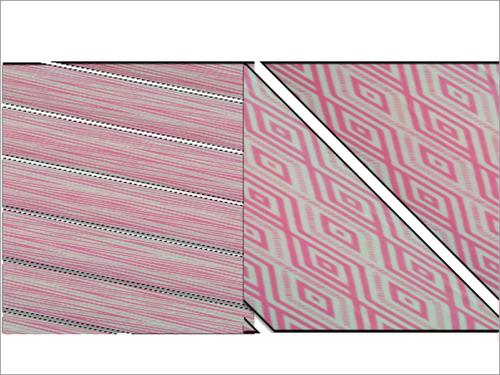 Reversible Flat Knit Baby Blanket