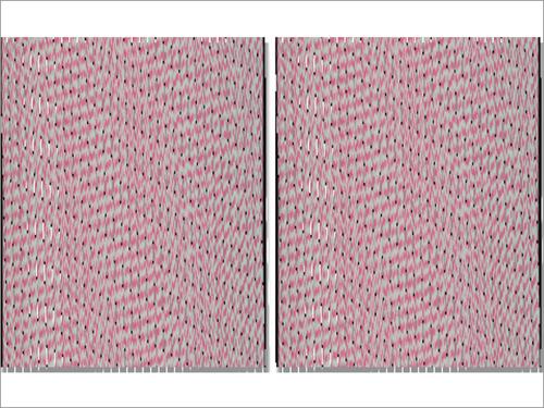 Flat Knit Baby Blanket Reversible