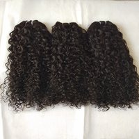Steam curly no chemical process human hair