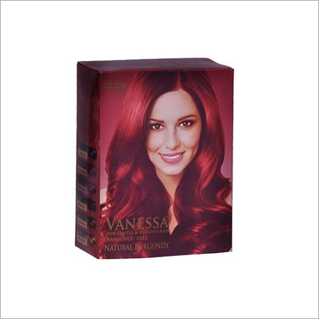 Ammonia Free Natural Burgundy Hair Color