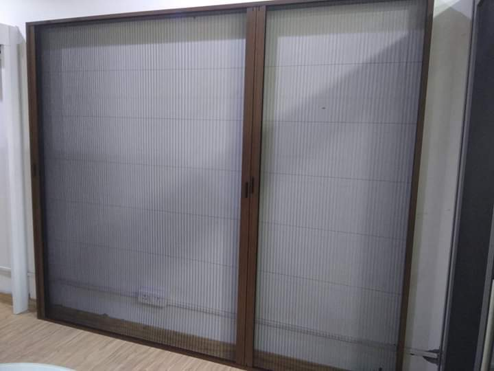 Pleated Insect Screens