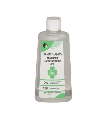 Alcohol Based Isopropyl Hand Sanitizer 500ml Bottle