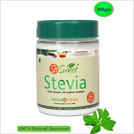 So Sweet Stevia 200 gm Spoonable Bottle