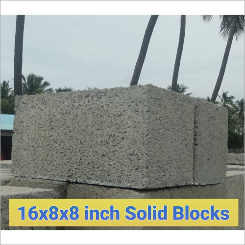 8 Inches Solid Blocks