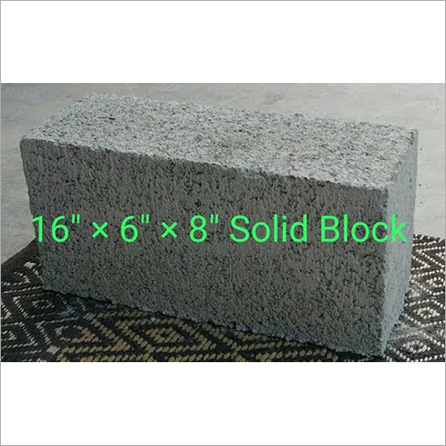 6 Inches Solid Blocks