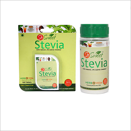 So Sweet Stevia Combo of 100 Stevia Tablets and 50 gms Pure Stevia Extract