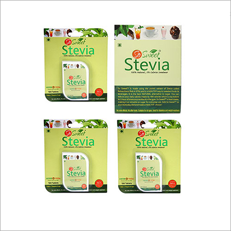 So Sweet Stevia Combo of 300 Stevia Tablets and Stevia 50 Sachets