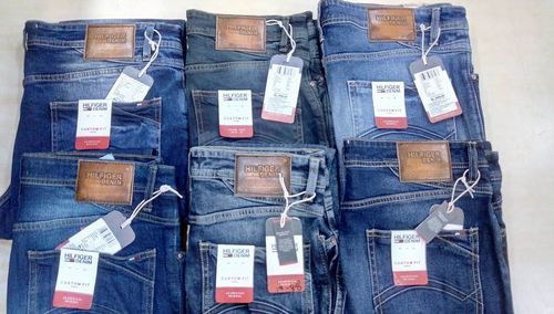 Surplus Branded Jeans with bill for resell in india