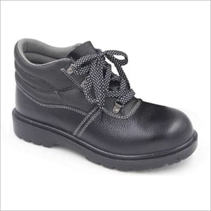 Mens Rubber Sole Safety Shoe