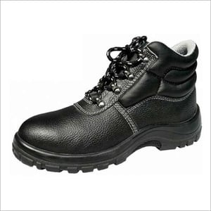Mesh Spacer Lining Safety Shoe