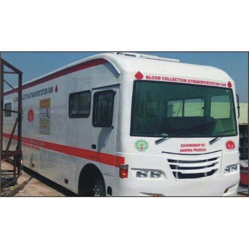 Blood Collection Transportation Van
