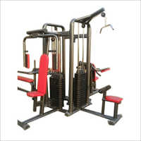 Multi Functional Four Station Gym Machine