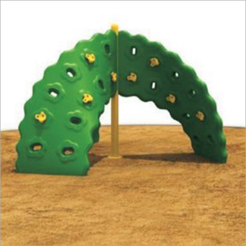 Plastic and Metal Play Ground Climber