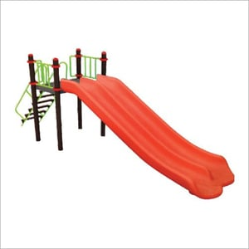 FRP Double Playground Slide