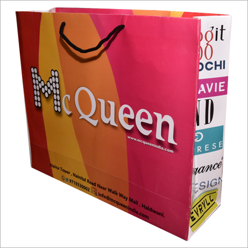 Printed Paper Shoping Bag