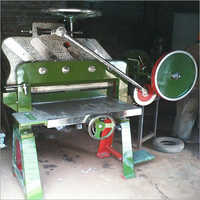 Manual And Automatic Notebook Cutting Machine