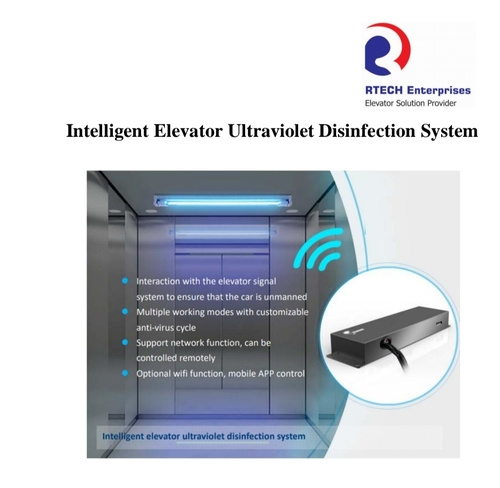 Intelligent Elevator Ultraviolet Disinfection System