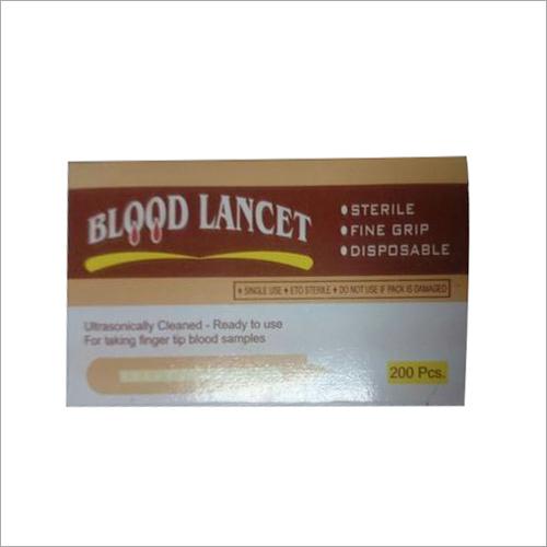 Blood Lancets Steel