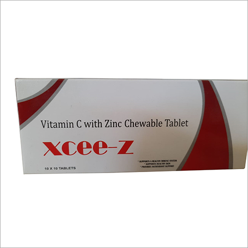 Vitamin C With Zinc Chewable Tablet