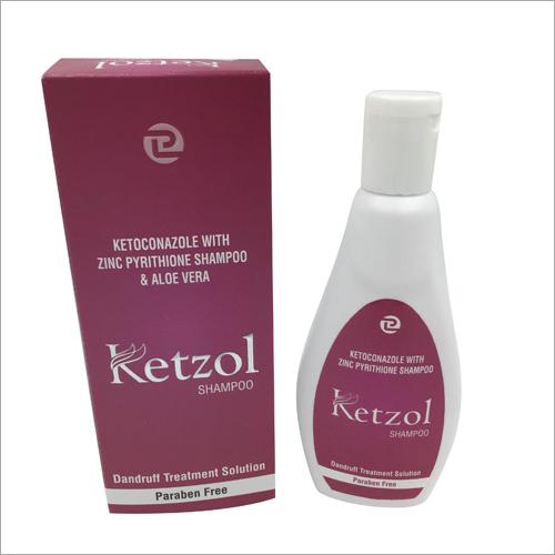Ketoconazole With Zinc Pyrithione Hair Shampoo And Aloe Vera