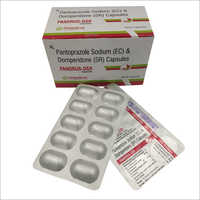 Pantoprazole Sodium (EC) And Domperidone (SR) Capsules