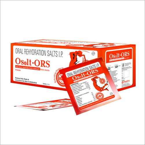 Oral Rehydration Salts IP Sachets