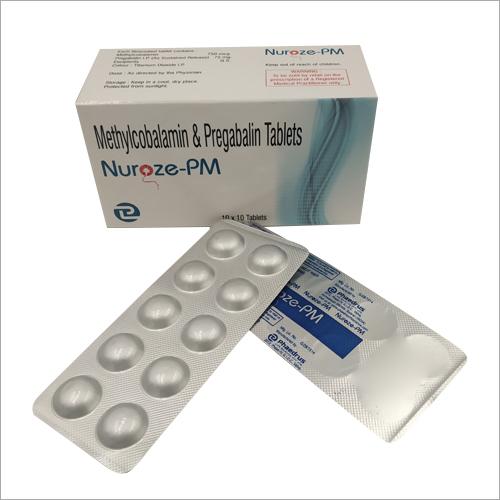 Methylcobalamin And Pregabalin Tablets