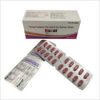 Ferrous Fumarate Folic Acid And Zinc Sulphate Tablets