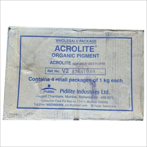 Acrolite Organic Pigment