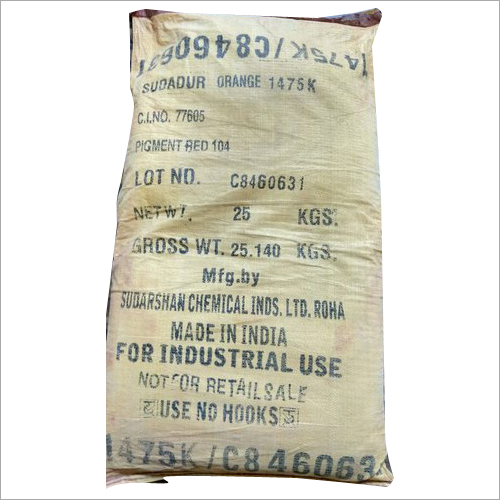 1475 K Orange Sudarshan Colour And Pigments