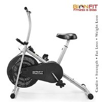 Indoor Air Bike Exercise Cycle- Pre Installation