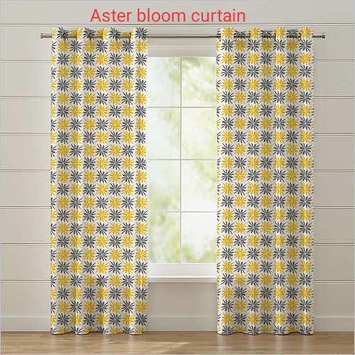 Aster Bloom Curtain