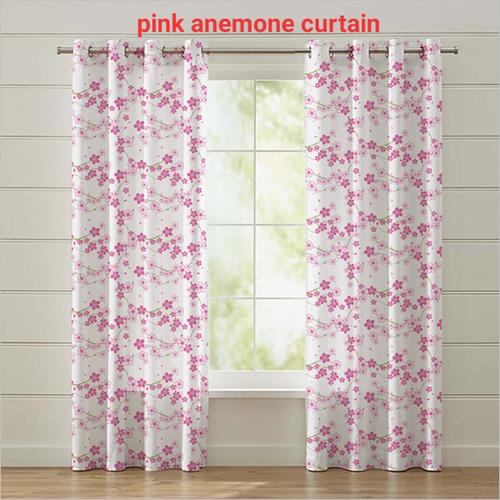 Pink Anemone Curtain