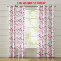 Pink Anemone Curtain