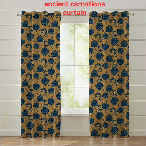 Ancient Carnations Curtain
