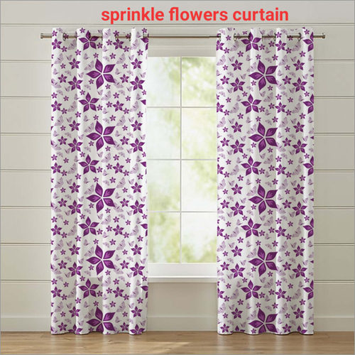 Sprinkle Flowers Curtain